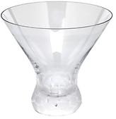 Moser Pebbles Stemless Martini Glass
