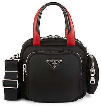 Prada Padded Nylon Satchel