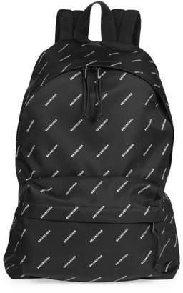 Balenciaga Logo Explorer Backpack