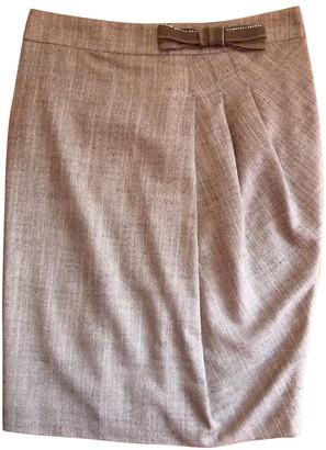 Pinko Anthracite Skirt for Women