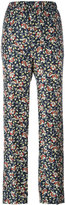 Isabel Marant printed Roya trousers - women - Silk - 36