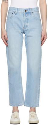 Saint Laurent Blue Authentic Jeans