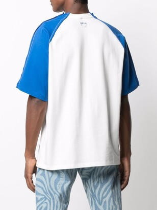 Ader Error contrast-sleeves T-shirt