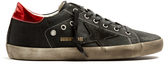 Golden Goose Deluxe Brand Super Star Bowie low-top canvas trainers