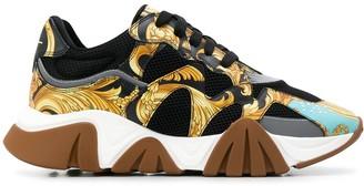 Versace Baroque Squalo sneakers