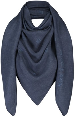 Monique Singh Unapologetic Cashmere Monogram Shawl