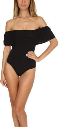 Nightcap Clothing Off Shoulder Bodysuit