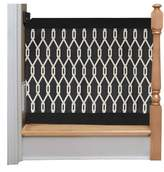 The Stair Barrier Wall to Banister Indoor Outdoor Safety Gate