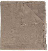 Rick Owens frayed scarf - women - Silk/Cashmere - One Size