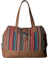 American West Buena Vista Multi Compartment Large Tote Tote Handbags
