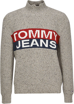 Tommy Hilfiger Logo Panel Sweater