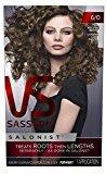 Vidal Sassoon Salonist Hair Colour Permanent Color Kit, 6/0 Light Neutral Brown
