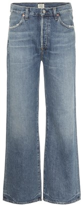 Citizens of Humanity Flavie high-rise wide-leg jeans