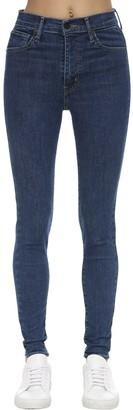 Levi's High Rise Skinny Cotton Denim Jeans