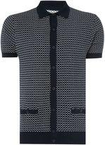 Peter Werth Ramsay Matchstick Check Polo Shirt