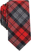 Bar III Men's Bernard Plaid Slim Tie, Only at Macy's