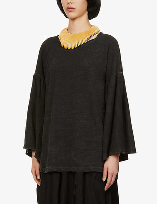 UMA WANG Tati dropped-shoulders cotton jumper