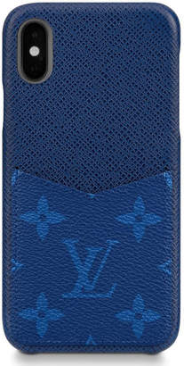 Louis Vuitton iPhone Case Monogram Pacific Taiga XS Blue