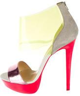 Christian Louboutin Neon Platform Sandals