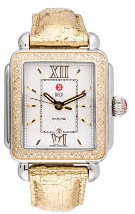 Michele Deco Watch silver Deco Watch