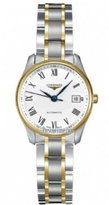 Longines Master Collection Automatic Two Tone18k Gold with Stainless steel Women's Watch