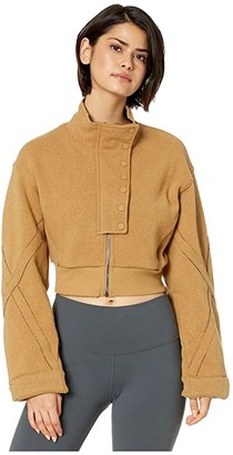 Alo Strut Jacket (Anthracite Heather) Women's Clothing