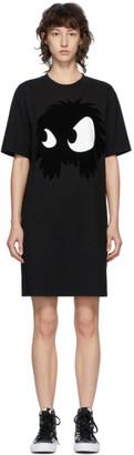McQ Black Swallow Chester Monster Short Dress