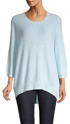 Lord & Taylor Long-Sleeve High-Low Tunic