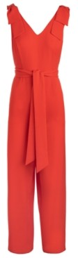 INC International Concepts Inc Tie-Waist Crepe Jumpsuit, Created for Macy's