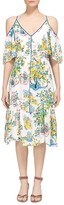 Whistles Cold-Shoulder Garden Dress