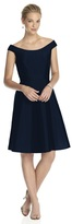 Alfred Sung D686 Bridesmaid Dress in Midnight