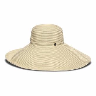 Smithsonian Institution Women's Adjustable Head Size Elle Round Crown Hat