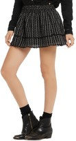 Scotch & Soda Embroidered Mini Skirt