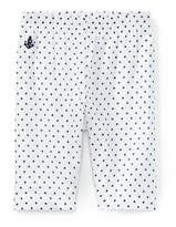 Ralph Lauren Polka-Dot Cotton Batiste Pant