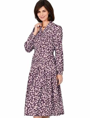 Emilyrose Ladies Womens Drop Waist Dress 40 Inches Wine 16