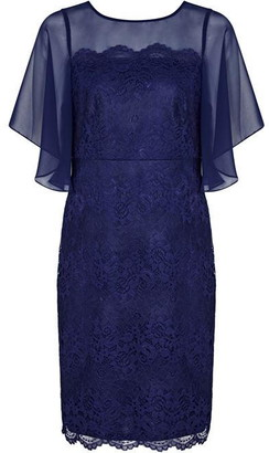 Ariella London Lana Marie Fiorella Chiffon Lace Dress
