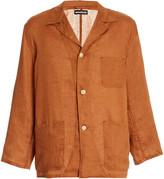 MONITALY Linen Shirt Jacket
