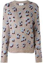 3.1 Phillip Lim leopard intarsia sweater