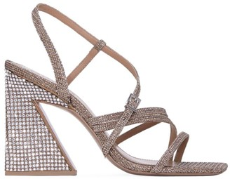 Mercedes Castillo Kelise Crystal-Embellished Sandals