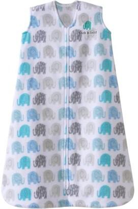 Halo SleepSack Wearable Blanket, Microfleece, Cream Owls, Large