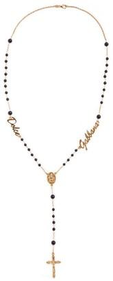 Dolce & Gabbana Rosary Charm Necklace