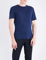 Sandro Crewneck linen T-shirt