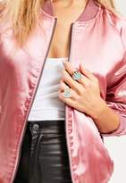 Missguided Shell & Babe Power Statement Ring Set