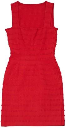 Alaia Pink Viscose Dresses