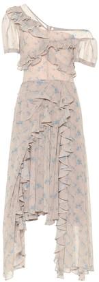 Preen by Thornton Bregazzi Quia floral stretch-crApe midi dress