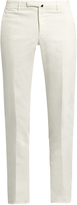 Incotex Slim-leg stretch-cotton twill trousers