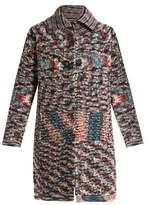 Missoni Spread-collar cashmere cardigan