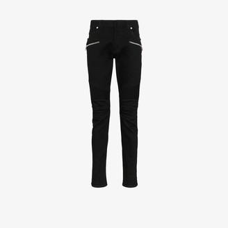 Balmain Zip Slim Fit Jeans