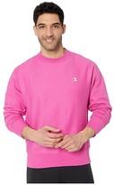Champion LIFE Reverse Weave(r) Crew (Peony Parade Pink) Men's Clothing