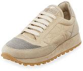 Brunello Cucinelli Stardust Leather Original Sneaker